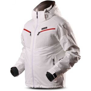 TRIMM TORENT bílá 3XL - Pánská lyžařská bunda