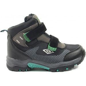 Umbro JON zelená 29 - Dětská treková obuv