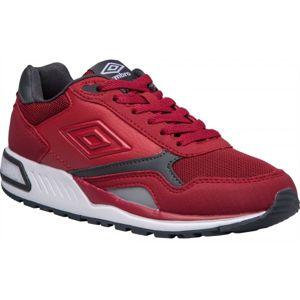 Umbro REDHILL M červená 9.5 - Pánská volnočasová obuv