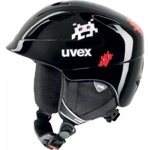 Uvex AIRWING 2 černá (52 - 54) - Dětská lyžařská helma