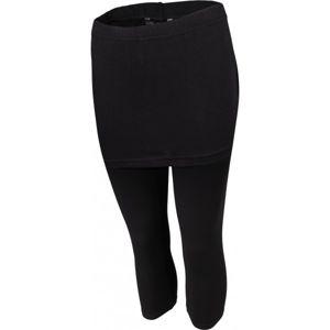 Willard LEONTYNA černá XL - Dámské legíny se sukní