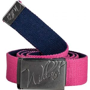 Willard RONIT růžová S/M - Látkový opasek s kovovou sponou