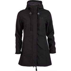 Willard SILVA černá XXL - Dámský softshellový kabát